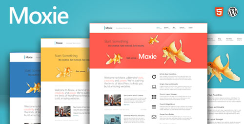 Moxie v1.3.19 - Responsive Theme for WordPress