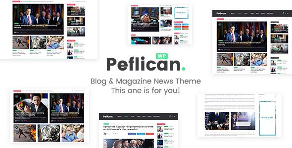 Peflican v2.0.0 - A Newspaper and Magazine WordPress Theme