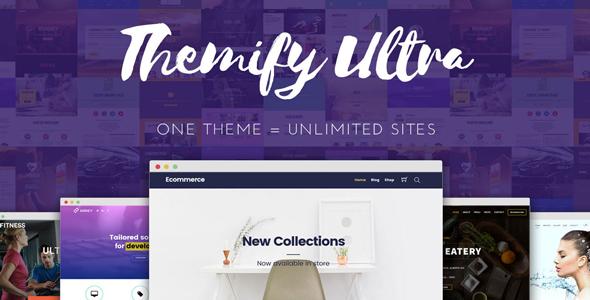 Ultra v2.2.9 - Themify WordPress Theme