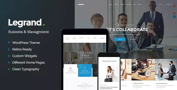 LeGrand v1.2.1 - A Modern Multi-Purpose Business Theme