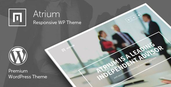 Atrium v2.4 - Responsive One Page WordPress Theme