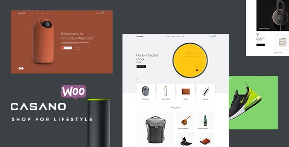 Casano v1.0.0 - WooCommerce Theme For Accessories & Life Style