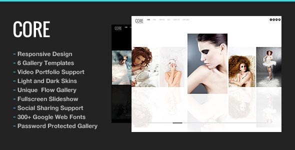 Core v5.9.1 - Minimalist Photography Portfolio