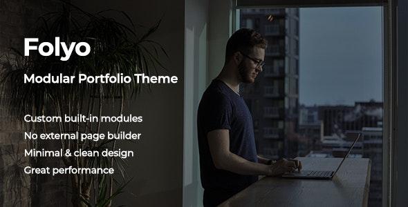 Folyo v1.0 - Modular Portfolio Theme