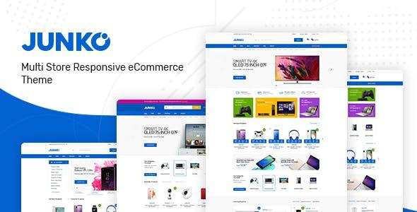 Junko v1.0.2 - Technology Theme for WooCommerce