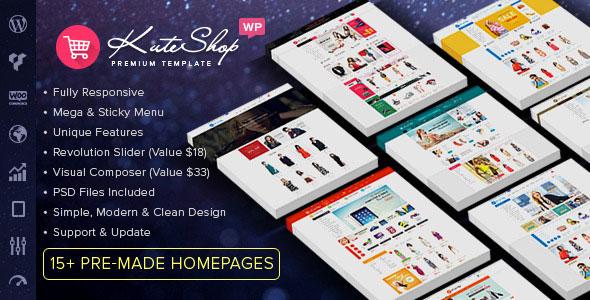 KuteShop v3.3.0 - Multipurpose WooCommerce WordPress Theme