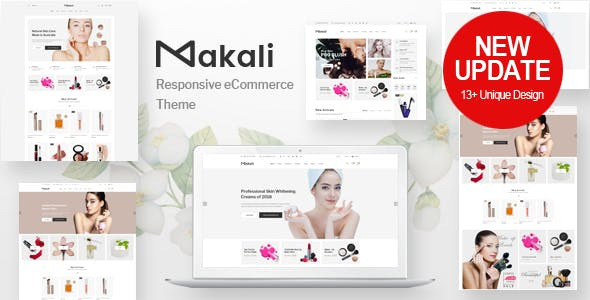 Makali v1.2.2 - Cosmetics & Beauty Theme for WooCommerce WordPress