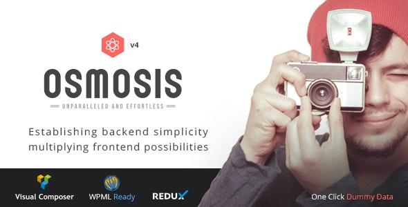 Osmosis v4.0.3 - Responsive Multi-Purpose Theme