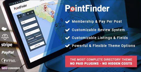 Point Finder v1.9.1 - Versatile Directory and Real Estate