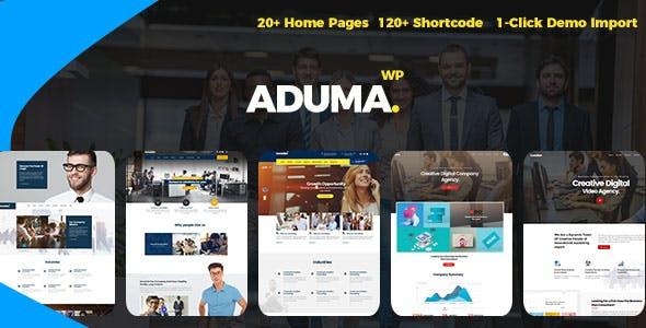 Aduma v1.3.1 - Consulting, Finance, Business WordPress Theme