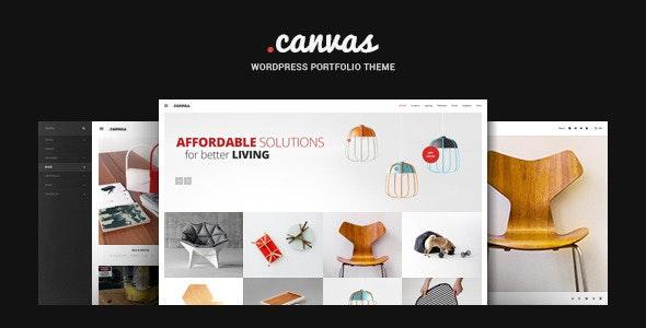 Canvas v2.5.5 - Interior & Furniture Portfolio WP Theme