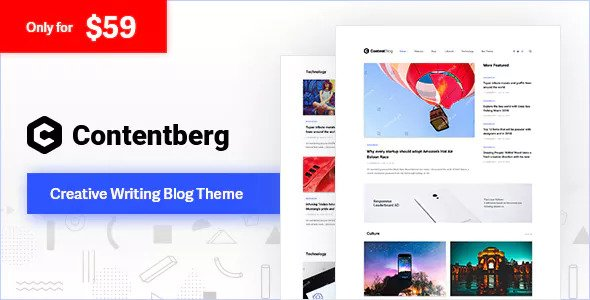 Contentberg Blog v1.6.1 - Content Marketing Blog