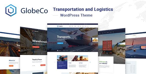 GlobeCo v1.0.2 - Transportation & Logistics WordPress Theme