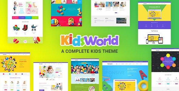 Kids Heaven v2.0 - Children WordPress Theme