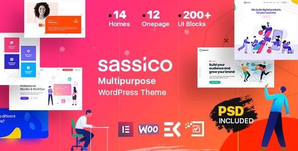 Sassico v1.6 - Multipurpose Saas Startup Agency WordPress Theme