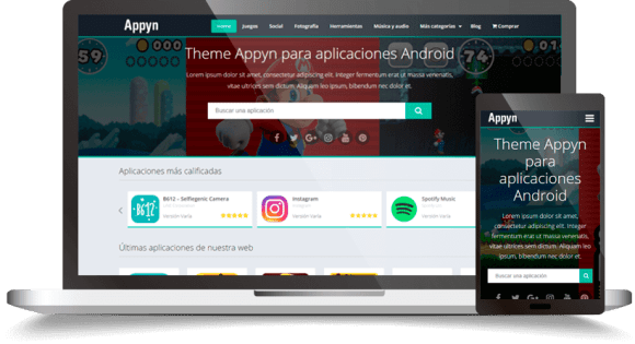 Appyn v2.0 WordPress Theme - Themespixel