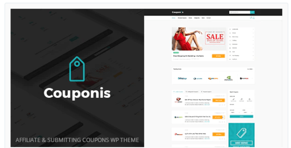 Couponis v3.1.2 - Affiliate & Submitting Coupons WordPress Theme 3.1.2