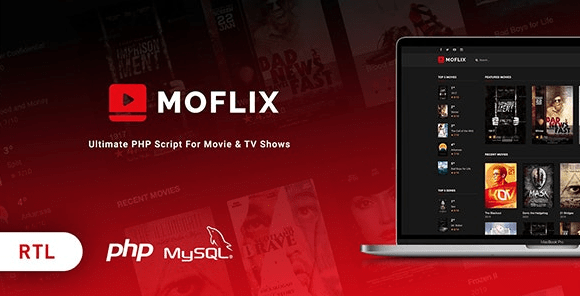 MoFlix - Ultimate PHP Script For Movie & TV Shows