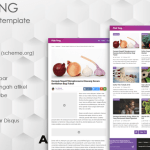 PinkTong - Template Blogger High Speed v1.3