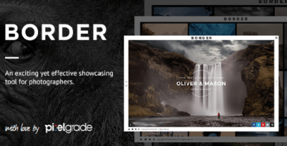 BORDER v1.9.2 - A Delightful Photography WordPress Theme