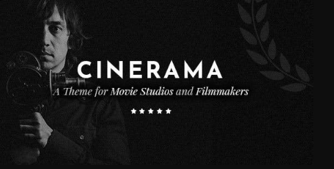 Cinerama v1.8.1 - A Theme for Movie Studios and Filmmakers