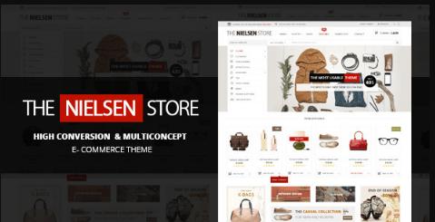 Nielsen v1.9.9 - E-commerce WordPress Theme