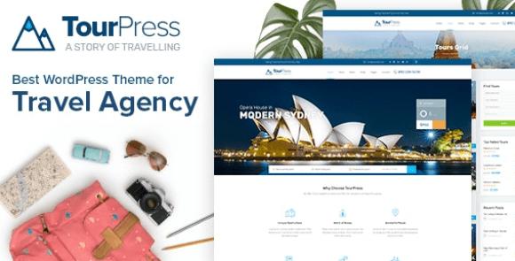 TourPress v1.1.7 - Travel Booking WordPress Theme