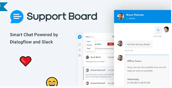 Chat - Support Board v3.1.3 - PHP Chat Application