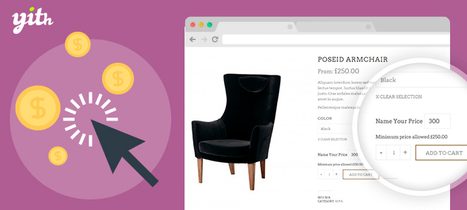 YITH WooCommerce Name Your Price v1.1.13