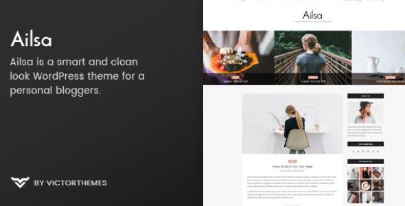 Ailsa v1.6 - Personal Blog WordPress Theme