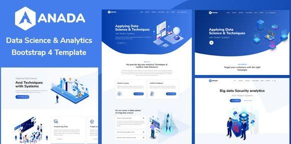 Anada v1.2.0 - Data Science & Analytics WordPress Theme