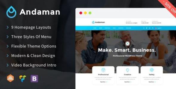Andaman v1.1.3 - Creative & Business WordPress Theme