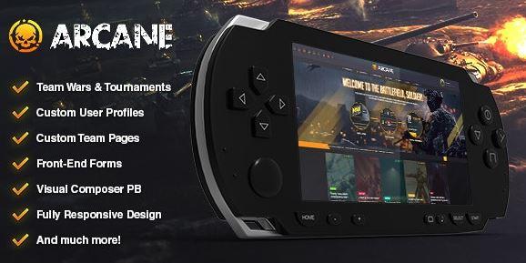 Arcane - The Gaming Community Theme + Plugins