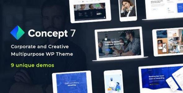 Concept Seven v1.3 - Responsive Multipurpose WordPress Theme