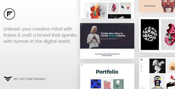 Fraxos v1.8 - Creative Portfolio WordPress Theme