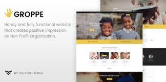 Groppe v2.7 - Nonprofit WordPress Theme