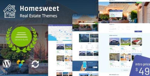 HomeSweet v1.7 - Real Estate WordPress Theme