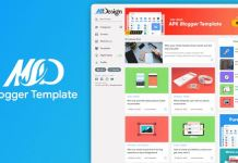 MSD Responsive Grid Style Blogger Template v1.0