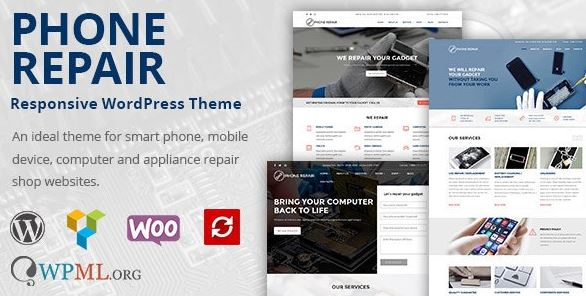 MobRepair v1.10.4 - Mobile Phone Repair Services WordPress Theme