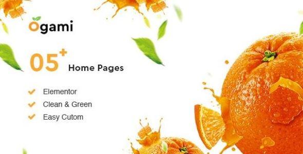 Ogami v1.3 - Organic Store & Bakery WordPress Theme
