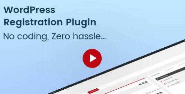 Pie Register Premium v3.6.10 – WordPress Registration Plugin + Addons
