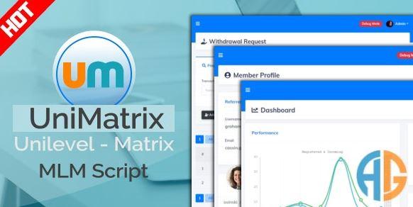 UniMatrix Membership - MLM Script Nulled