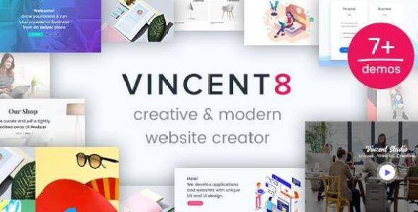 Vincent Eight v1.10 | Responsive Multipurpose WordPress Theme