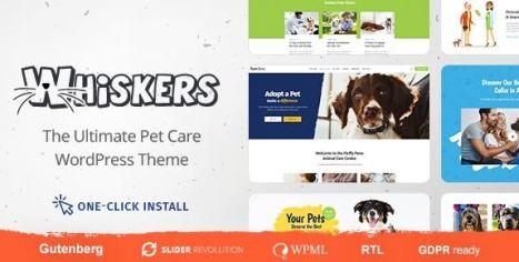 Whiskers v1.0.7 - Pets Store | Vet Clinic | Animal Adoption