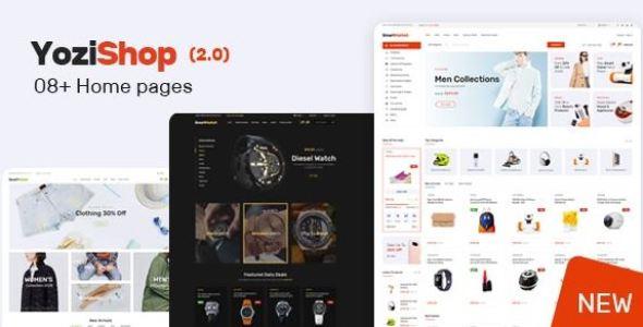 Yozi v1.2.6 - Multipurpose Electronics WooCommerce Theme