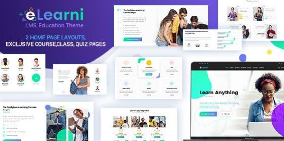 eLearni v1.9 - Online Learning and Education LMS