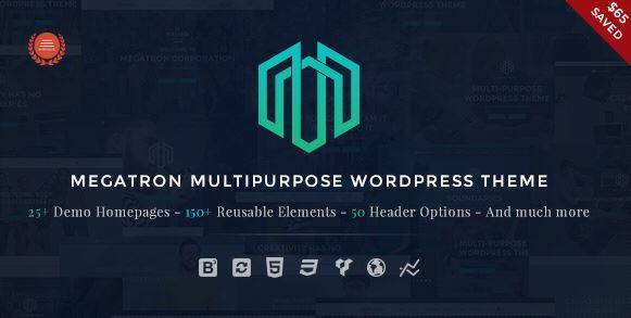 Megatron - Responsive MultiPurpose WP Theme v2.8