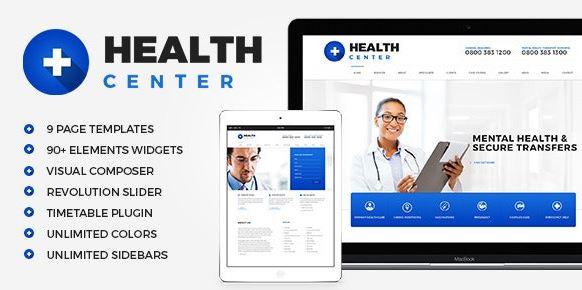Health Center - Medical WordPress Theme
