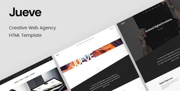 Jueve | Creative Agency HTML Template Onepage