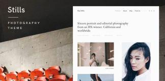 Stills - A Focused WordPress Photography Theme